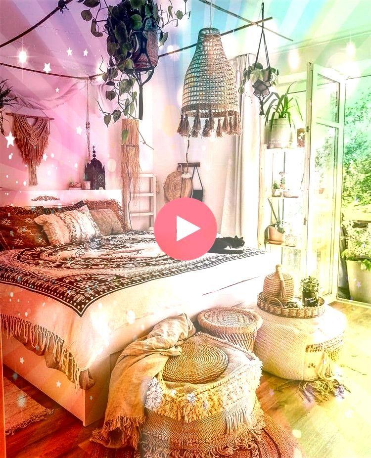 Bohemian Bedroom Decor Ideas BedroomModern Bohemian Bedroom Decor Ideas Bedroom Echa un vistazo a las tendencias 2020 en cuanto a mesitas de noche modernas elegantes y or...