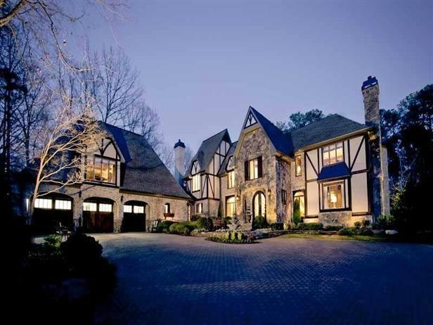 A Gracious Atlanta Tudor Home Home Styles Tudor Style