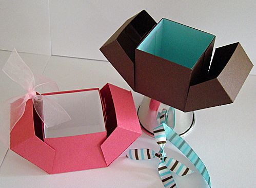 Origami Gift Box By SherryG