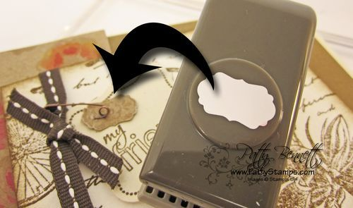 Tips for using the Little Labels punch pack from Stampin UP
