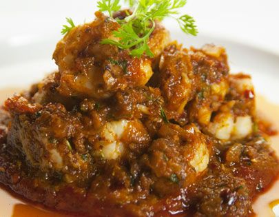 Kadai prawns with roasted pepper jam food art photography how to make kadai prawns with roasted pepper jam recipe by masterchef sanjeev kapoor forumfinder Choice Image
