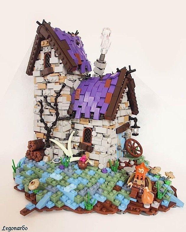 Faszinierende Fantasy-Lego-Welten von Legonardo Davidy | KlonBlog