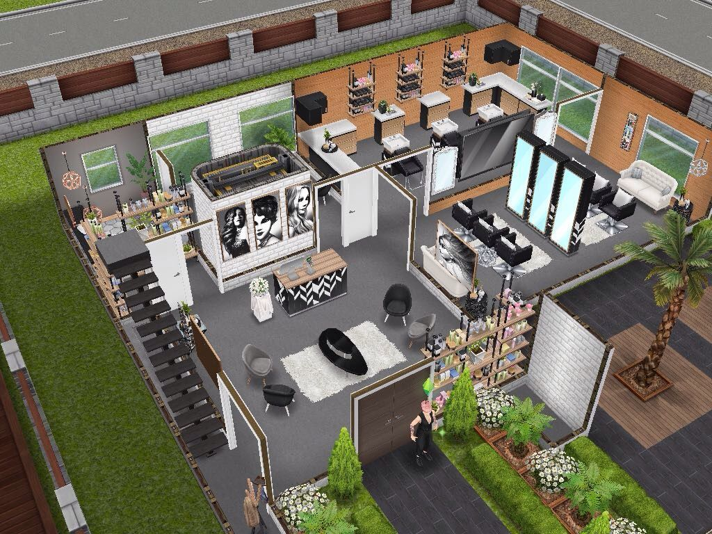 House 113 Salon Inspired By Joys Creative Finger Ground Level