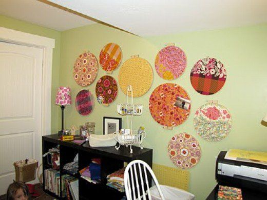 Frugal Home Décor: Embroidery Hoop Wall Art