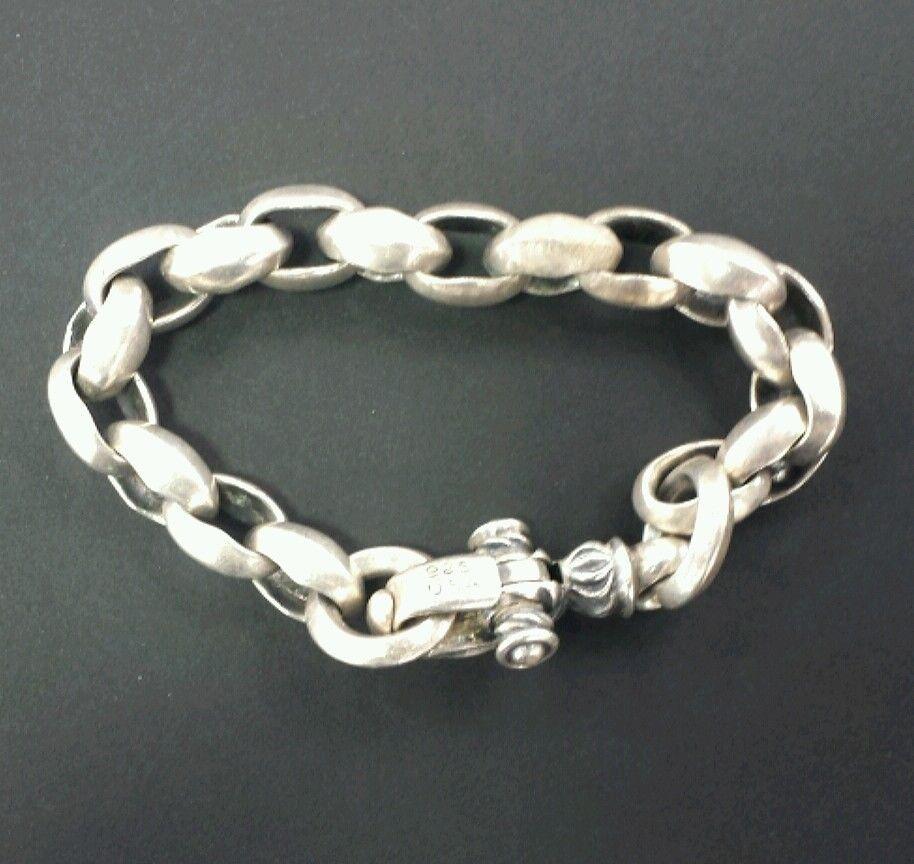 gram sterling silver bangle link bracelet unique sure