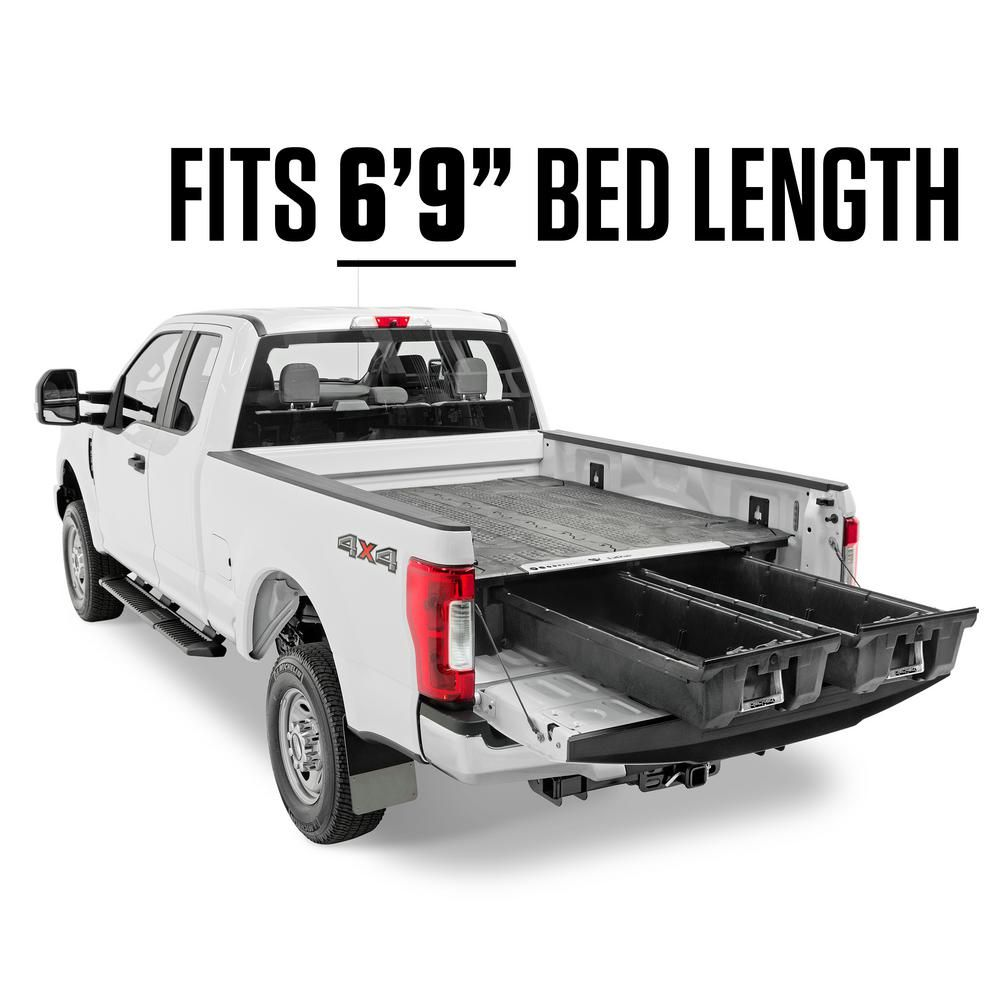 Decked 6 Ft 9 In Bed Length Pick Up Truck Storage System For
