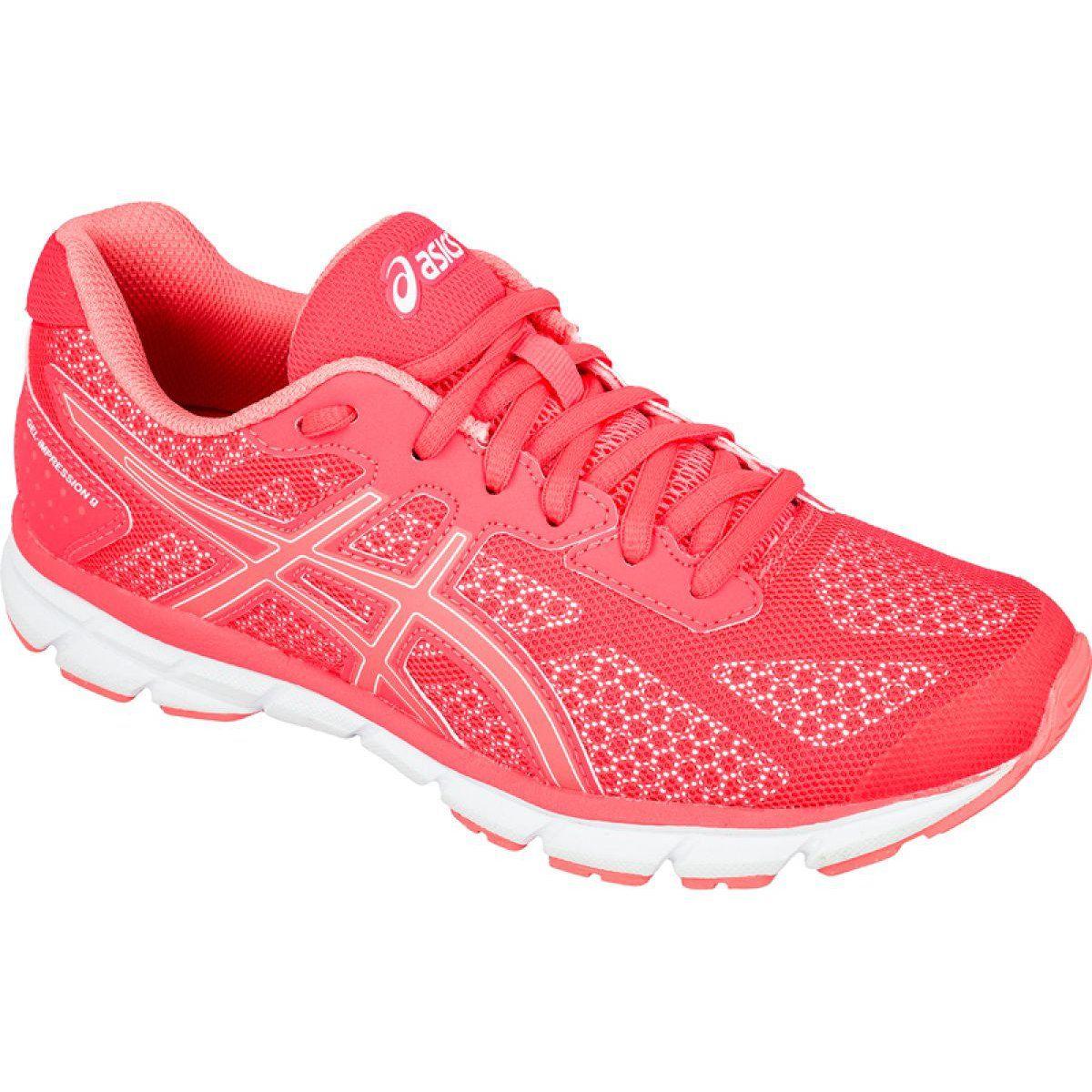 Buty Biegowe Asics Gel Impression 9 W T6f6n 2030 Rozowe Asics Running Shoes Asics Running Shoes