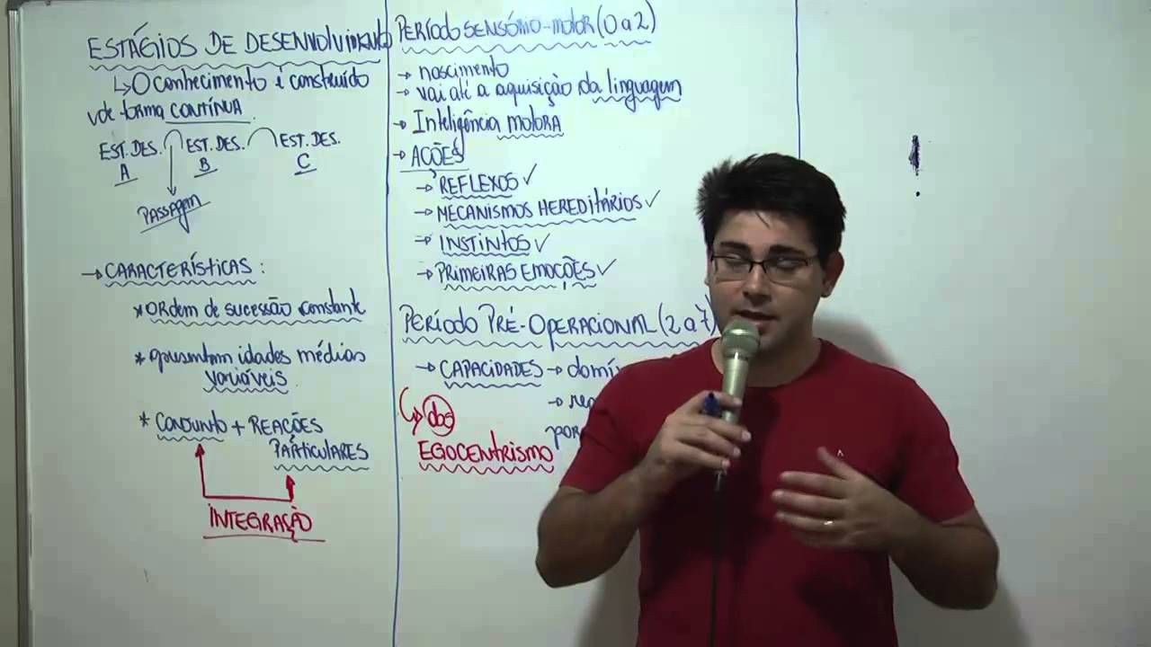 Piaget Estagios Do Desenvolvimento Educacao Concursos Publicos