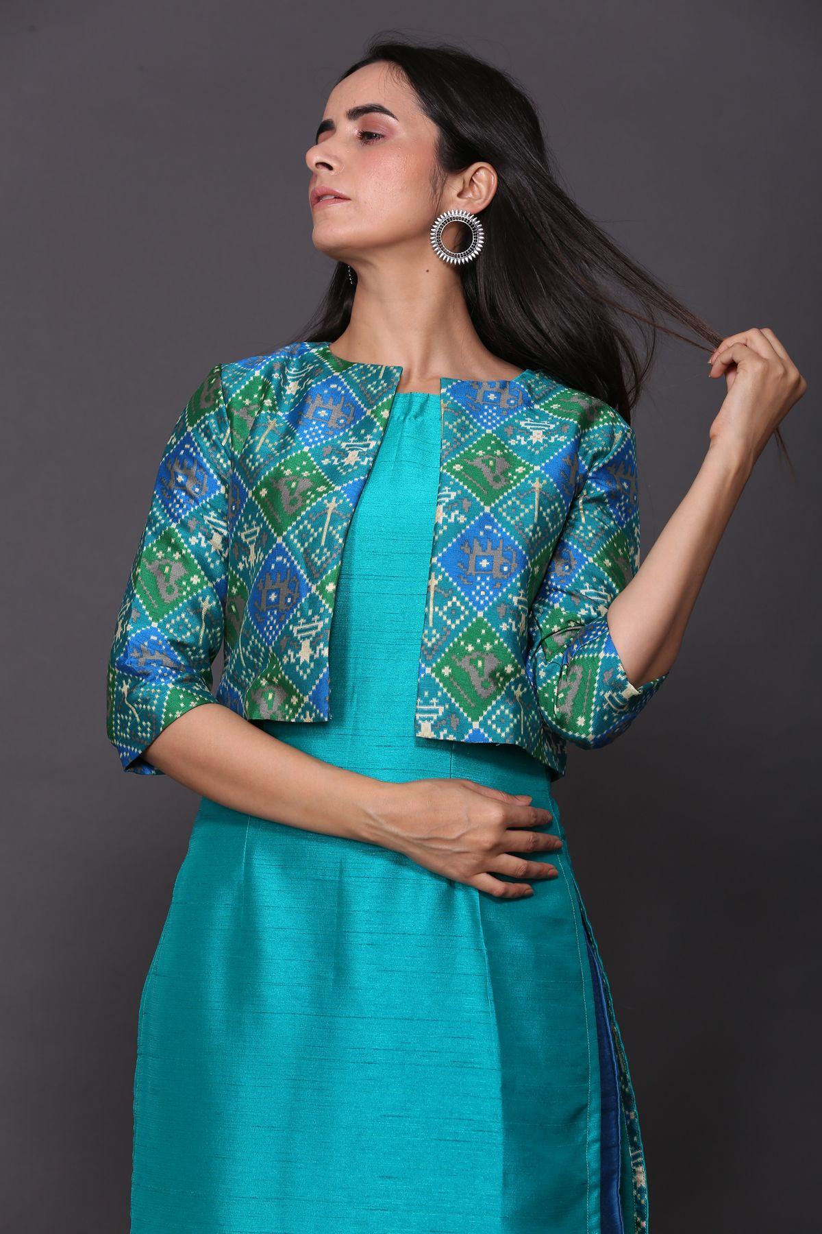 Green Details about  /Women/'s Ethnic Office Festive Daily Wear Cotton Kurta /& Pant Palazzo Set