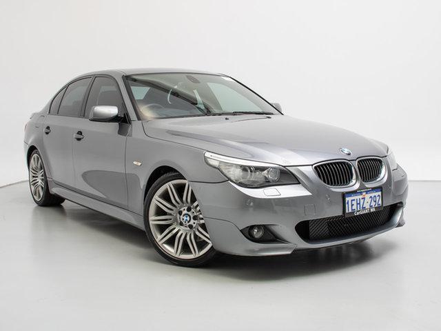 2009 BMW 550i E60 MY09 Grey 6 Speed Auto Steptronic Sedan