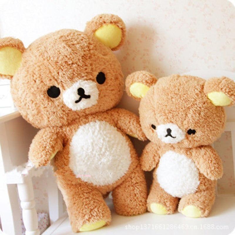 55cm Stuffed San-x Rilakkuma Relax Bear Soft Pillow Good Buy Hot Plush Toy Doll