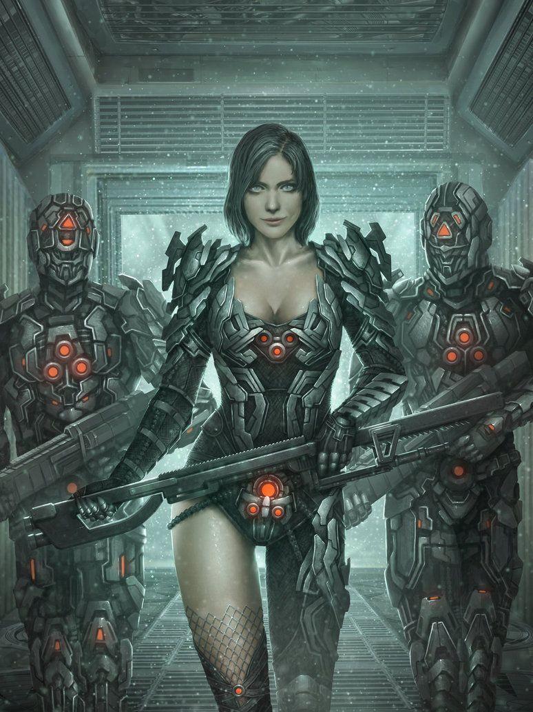 Madam Badass Repaint By Tekkoontan In 2019 Cyberpunk Girl