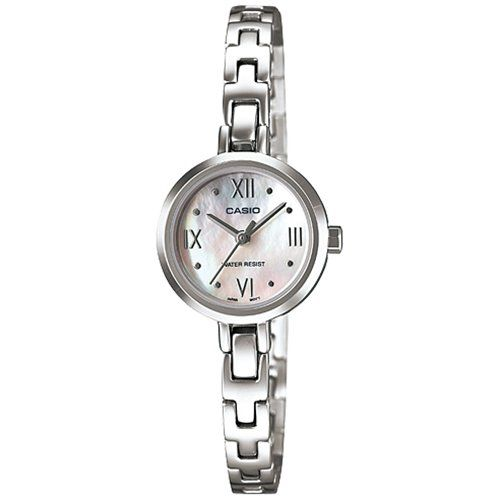 Women's Wrist Watches - Casio Womens Stainless Steel Analog Watch w Pearl Dial  LTP1352D7ADF * Click image for more details.