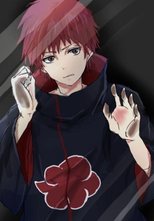 Anime behind glass ( Naruto Sasori ) …   Anime   Narut…
