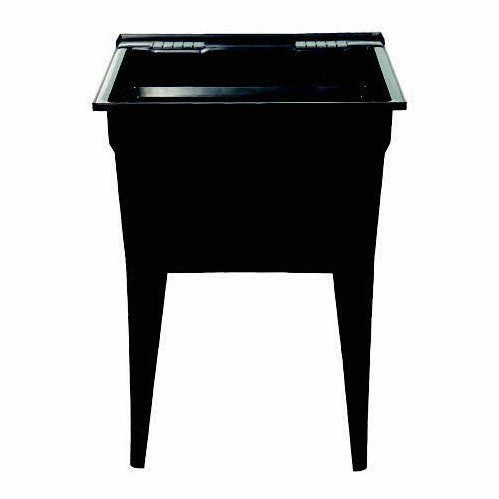 shop technoform tltb black laundry sink at loweu0027s canada find our selection of laundry - Slop Sink