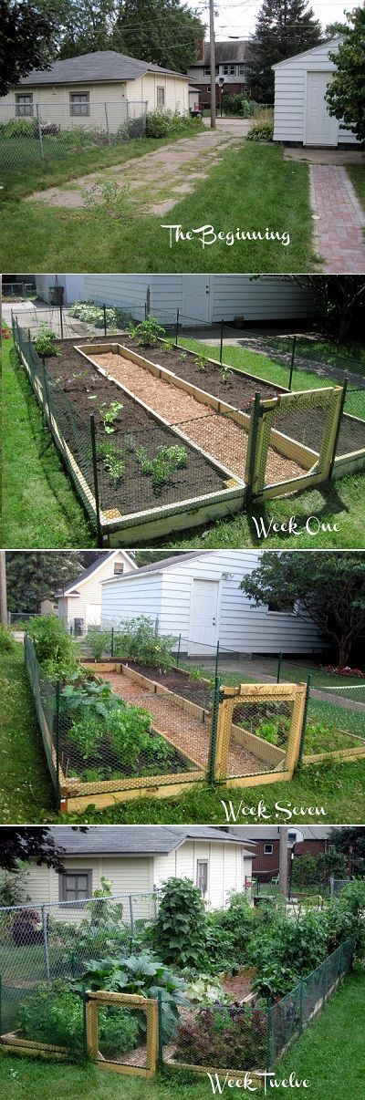 learn how to build a ushaped raised garden bed