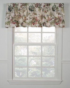 Brissac Tailored Valance Kitchen Window Curtains Valance