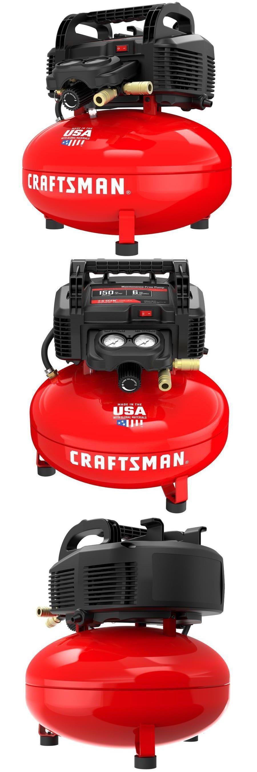 Air Tools 85759 Craftsman 6Gallon Portable Electric