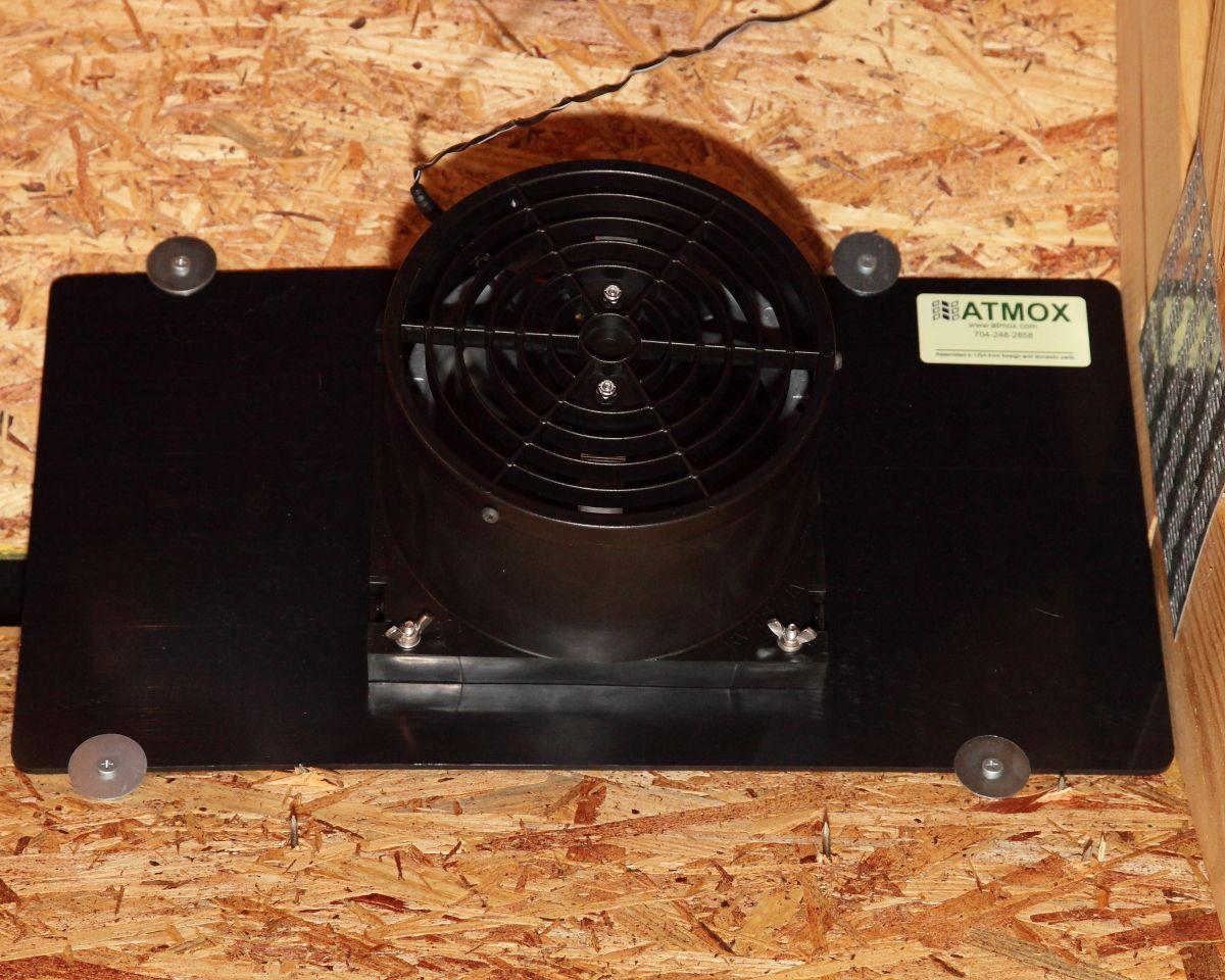 Heat Reduction Ridge Vent Attic Fans Attic Ventilation