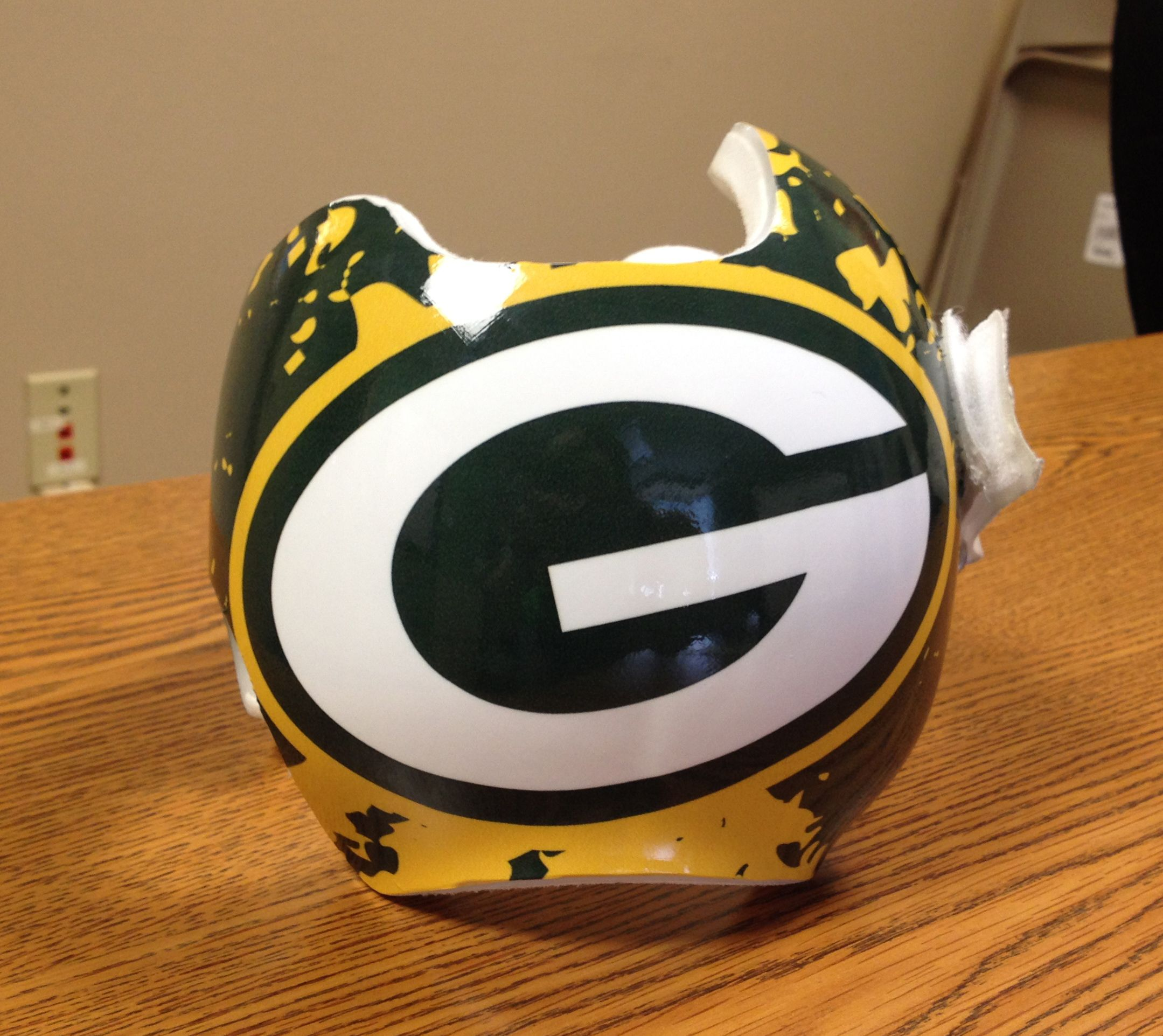 ed017732 www.kidwraps.org Sam's Green Bay Packers DOC band wrap done by ...