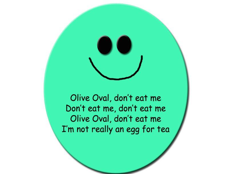 Olive Oval - Tune Of London Bridge