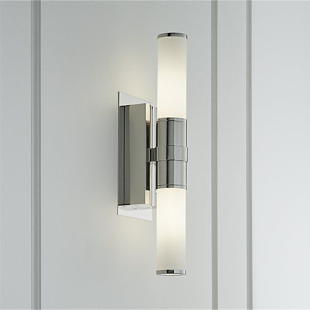 Also comes in chrome and bronze   Sconces, Wall sconces ... on Decorative Wall Sconces Candle Holders Chrome Nickel id=62777
