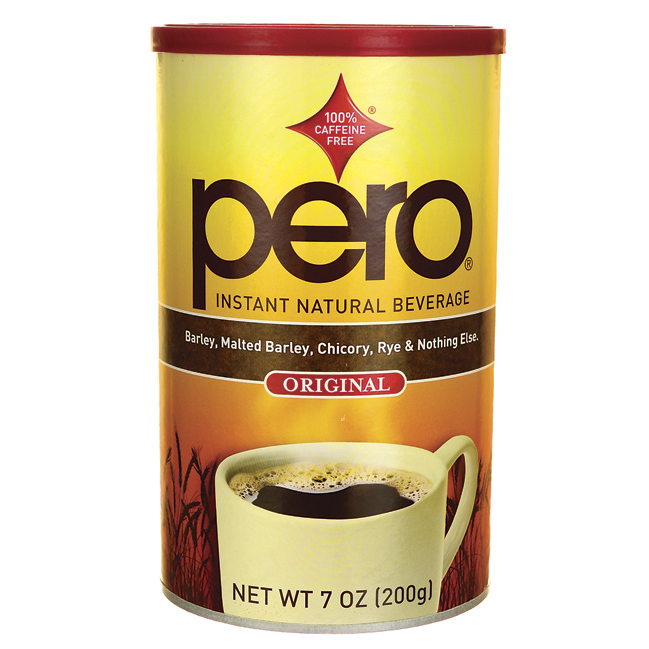 Pero Pero Instant Natural Beverage 7 Oz Pwdr Swanson Health Products Beverages Caffeine Free Swanson Vitamins