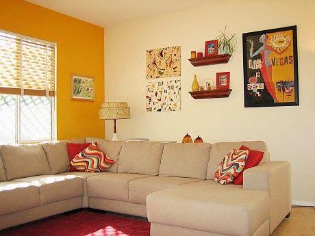 salas con paredes de colores vivos - Buscar con Google para mi