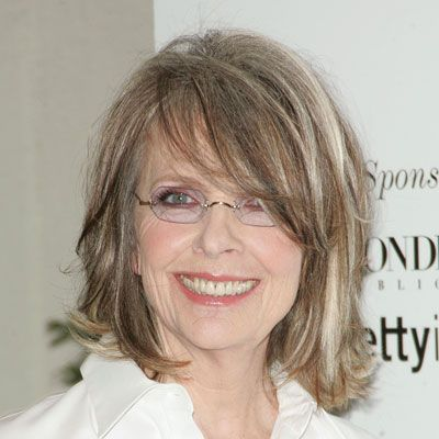 Diane Keaton S Best Hairstyles Ever Bangs With Medium Hair Medium Length Hair Styles Medium Hair Styles