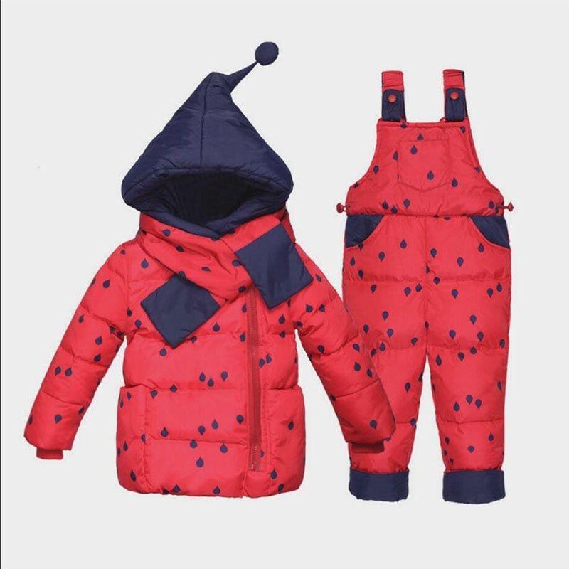 aac92b963 BibiCola 2018 winter baby girls clothing sets toddler bebe girls ...