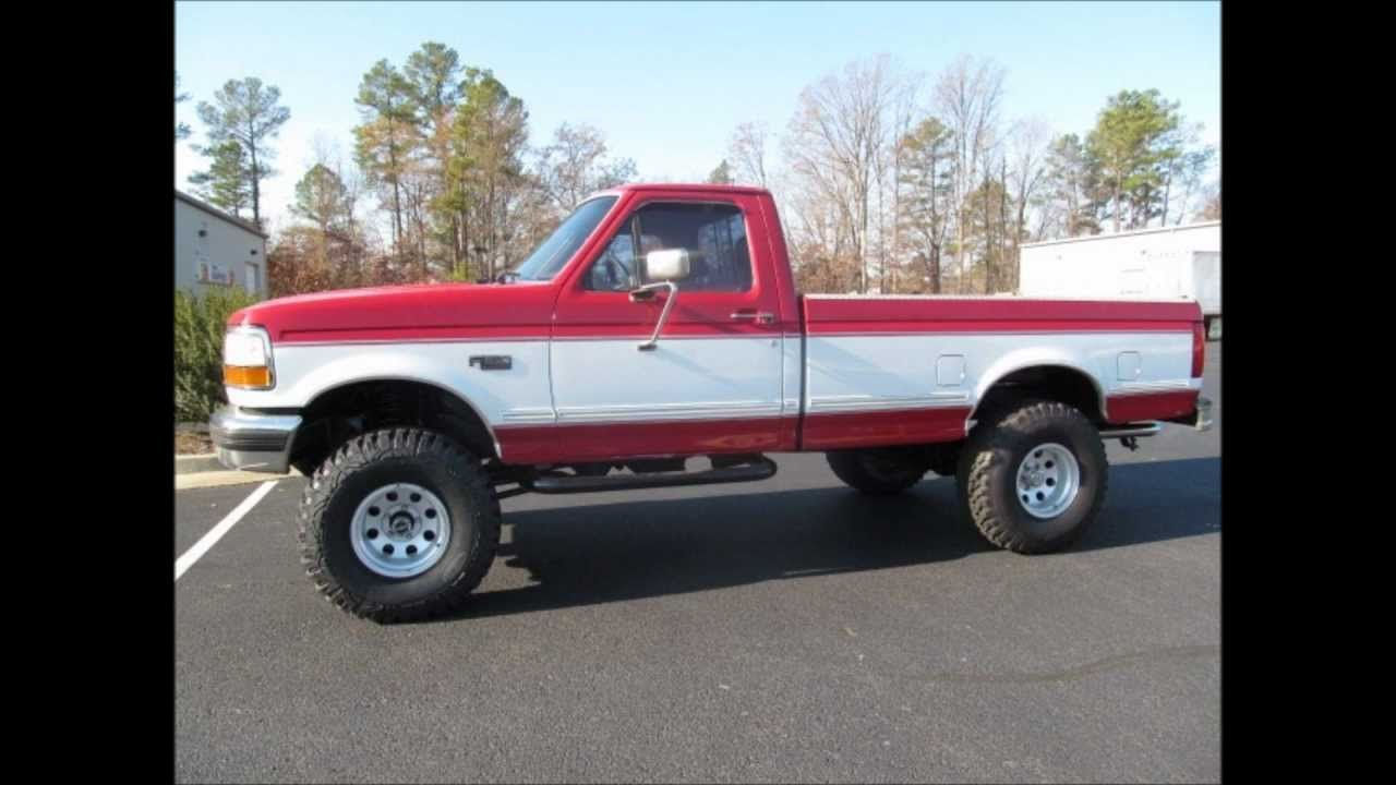 1994 ford f 150 xlt lifted truck for sale http www