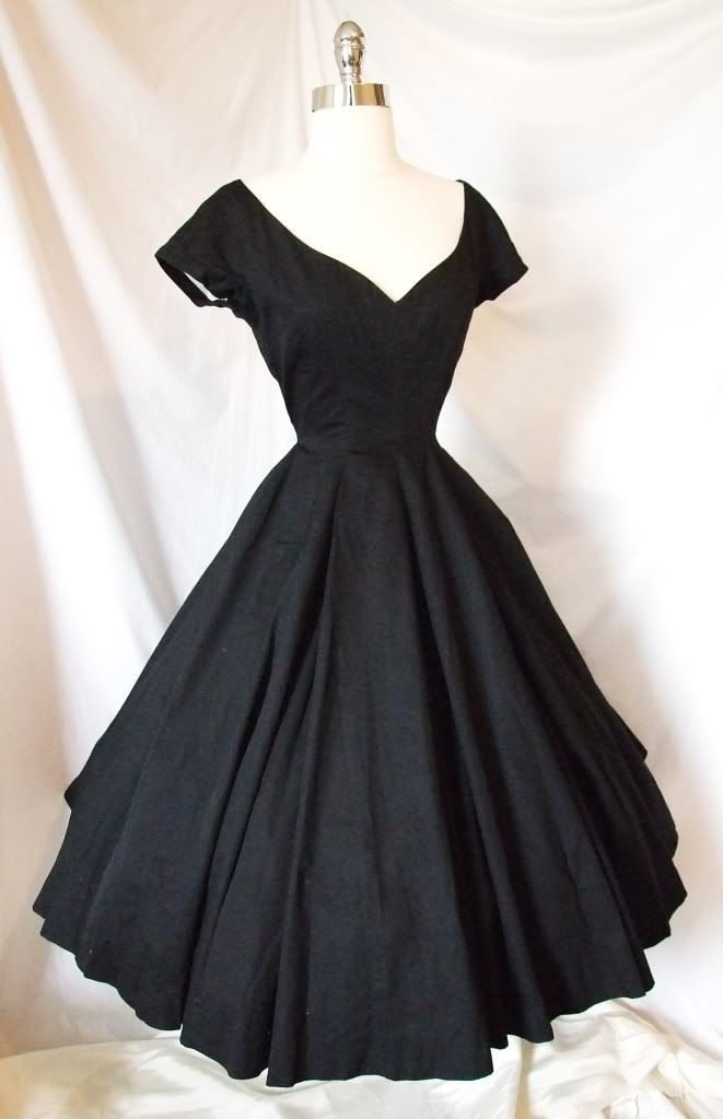 Vintage Black Cocktail Dresses