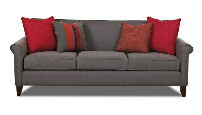 Slumberland Furniture Monroe Collection Gray Sofa