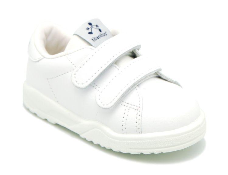 Tienda online de calzado infantil Okaaspain. Zapatillas o deportivas de piel  lavable Titanitos con doble e463a3400eb