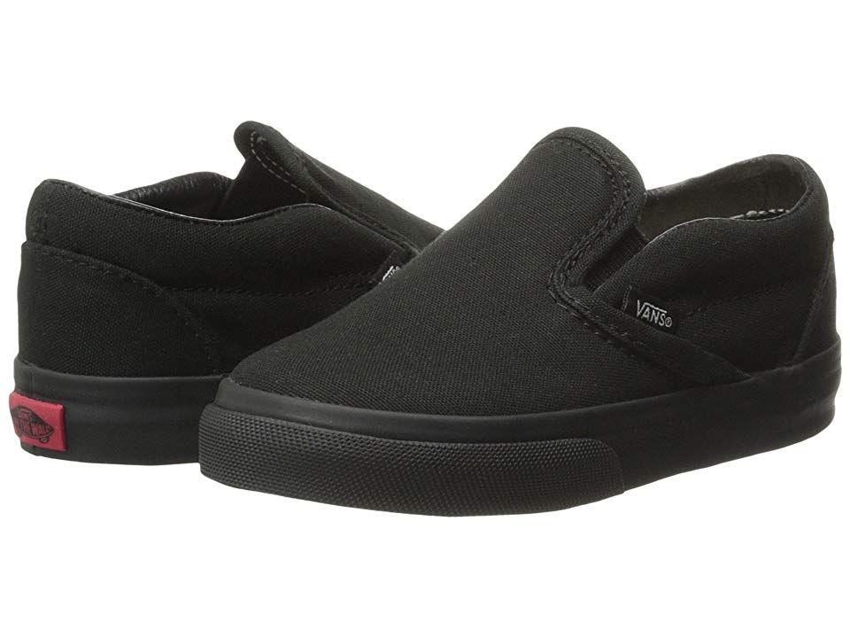 VANS Toddlers Classic Slip on Black