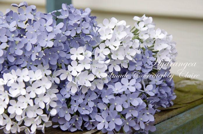 Paper hydrangea flowers wedding inspiration and diy pinterest paper hydrangea flowers mightylinksfo Gallery