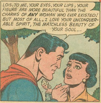 The matchless beauty of Lois Lane's soul...