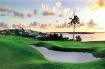 A golf course with a view to die for.  The 18 hole course at Newstead Belmont Hills Bermuda.