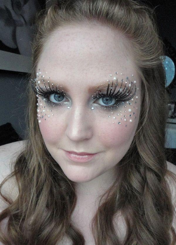 Bubblegum barbie makeup tutorial! Pink glitter fairy princess.