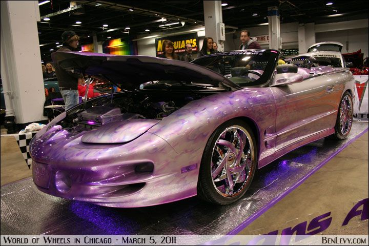 LOVE the purple finish! Why oh why did they ever discontinue the Trans Am :'(