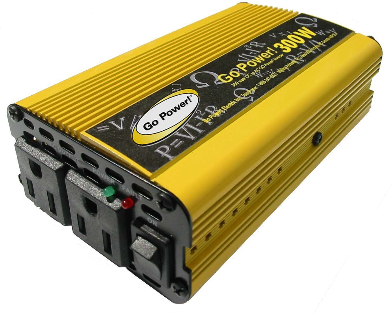 Go Power Gp 300 300 Watt Modified Sine Wave Inverter Learn More By Visiting The Image Link This Is An Affiliate Sine Wave Portable Power Power Inverters