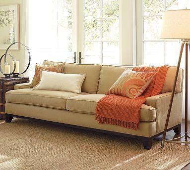 Pottery Barn Seabury Sofa Couch
