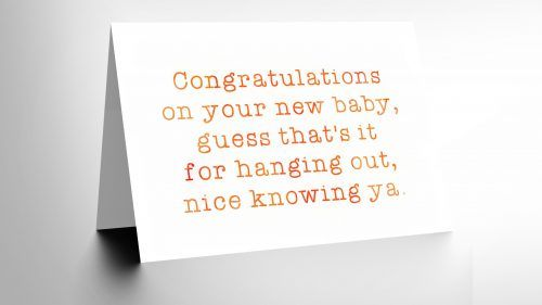 This is one of my favorite congratulations your having a baby cards - Sample Cards