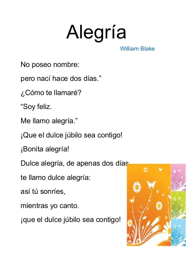 Poemas Para Niños De Primaria Poemas Para Niños Poemas Cortos Para Niños Poemas