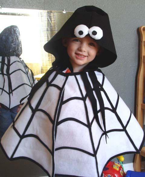 Disfraces Para Niños Disfraces Caseros Sencillos Y Rápidos Disfraz De Araña Disfraz De Fantasma Para Niños Como Hacer Disfraces