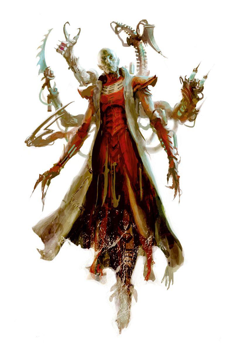 Haemonculous | 40k in 2019 | Dark eldar, Warhammer art, Dark