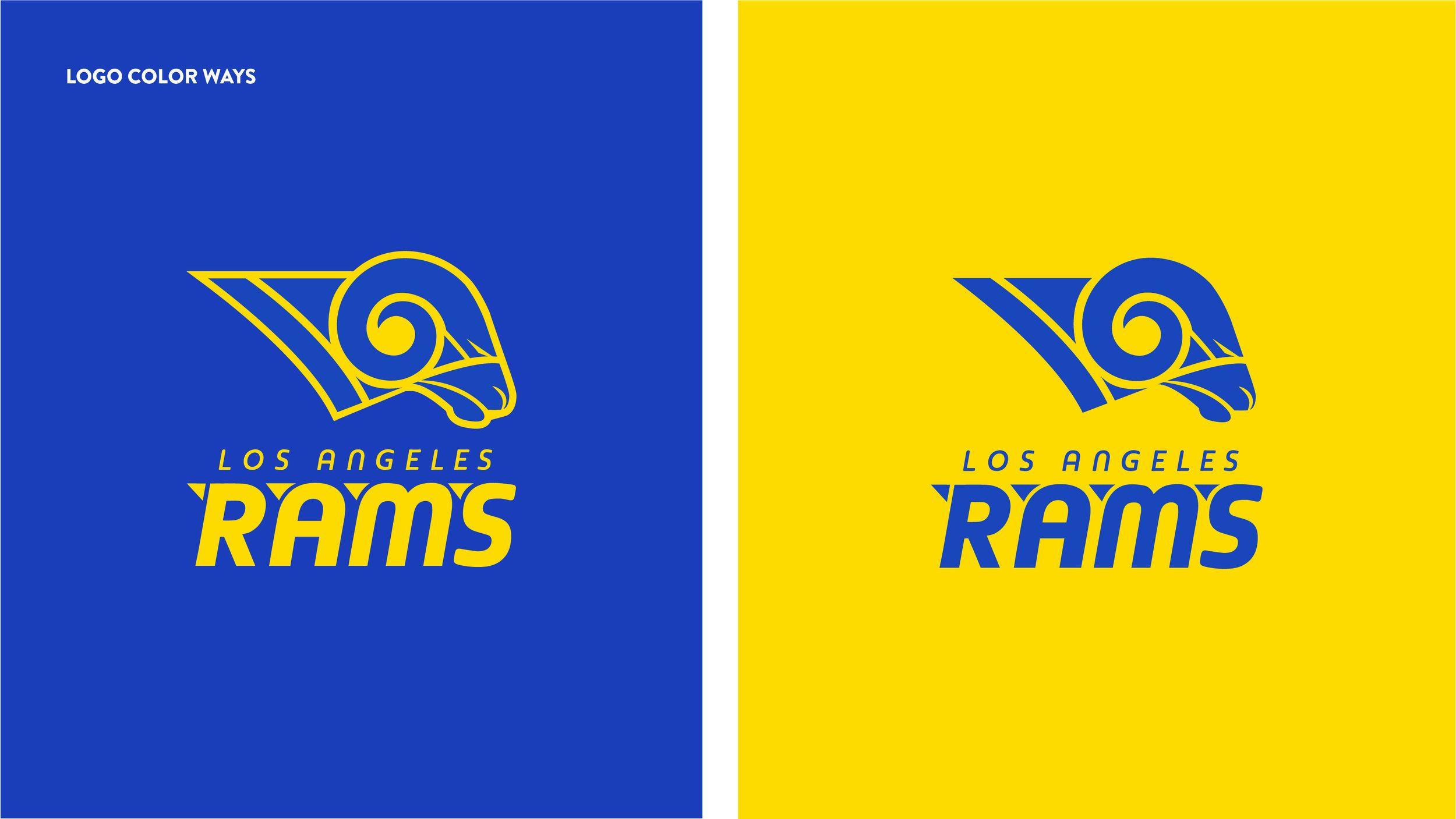 Artboard 3 copy.jpg Logo color, Design, La rams