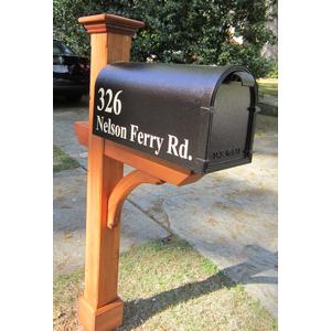 Image Result For Cedar Mailbox Post