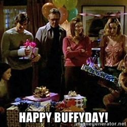 Happy Birthday Buffy Meme Google Search Tv Pinterest Buffy