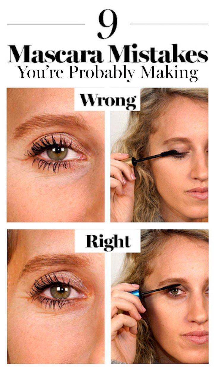 Best Ideas For Makeup Tutorials : How to Apply Mascara the ...